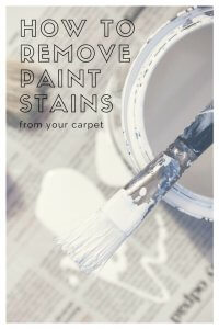 How To Remove Paint Stains from your carpets