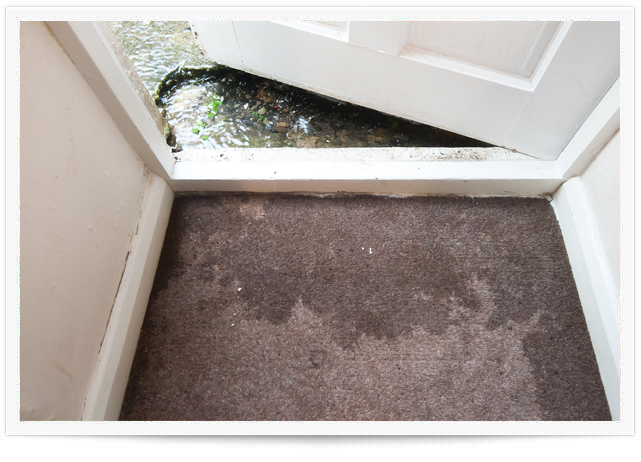 water extraction and water damage restoration