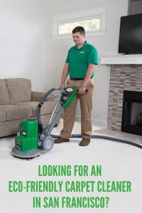eco-friendly carpet cleaner in san francisco
