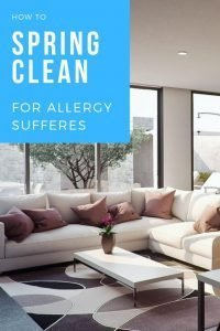 How to spring clean allergy sufferers