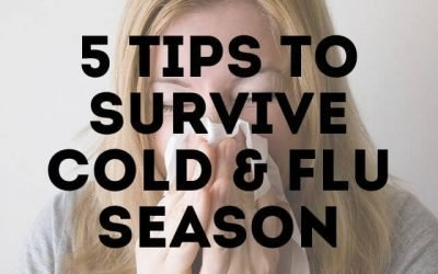5 Tips to Survive Cold & Flu Season