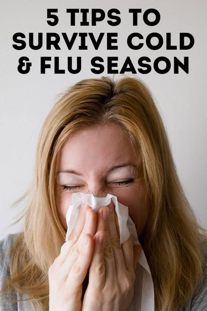 tips to survive flu and cold season