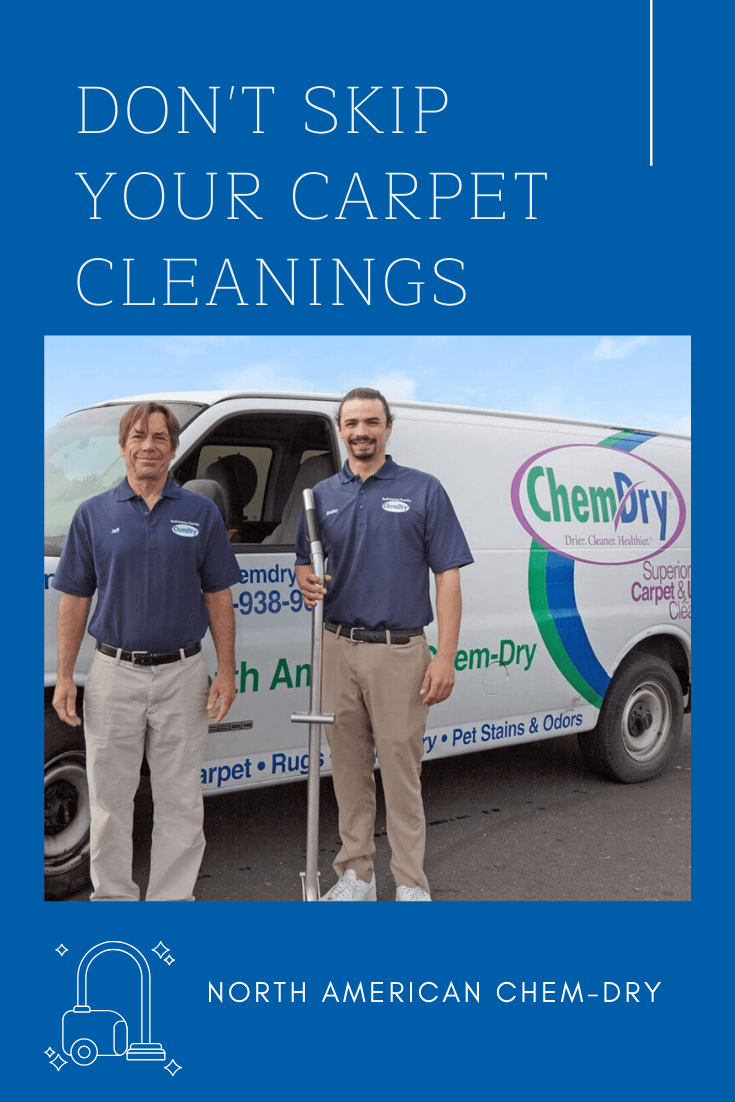 Don't skip on your carpet cleanings