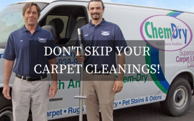 Don't Skip Your Next Carpet Cleaning