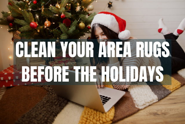 Get Ready for the Holidays with Professional Area Rug Cleaning
