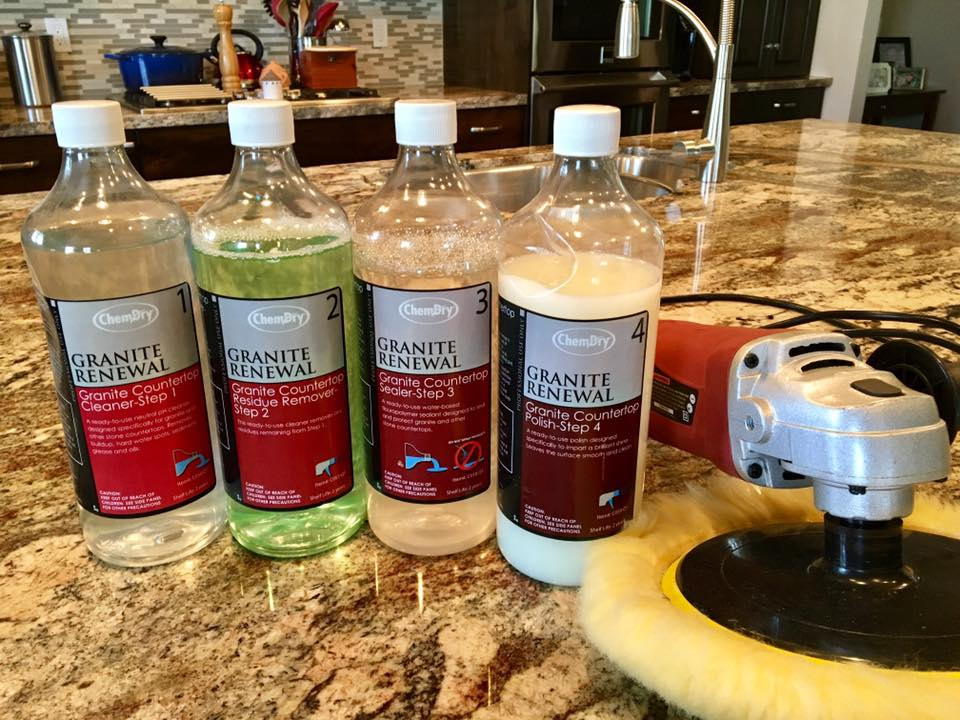 granite renewal products from North American Chem-Dry